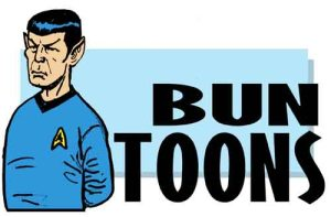 For my tribute to Leonard Nimoy Bun Toon (from two weeks ago) click here.