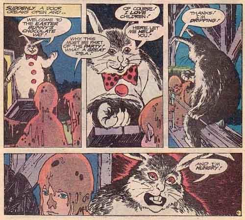 evil bunny story