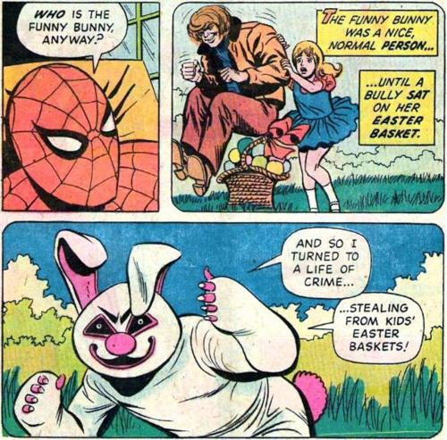 evil spider bunny