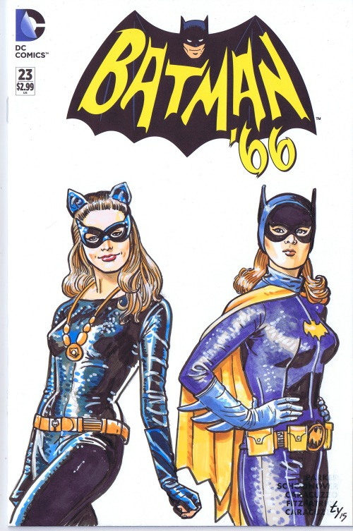 catwoman batgirl ty templeton
