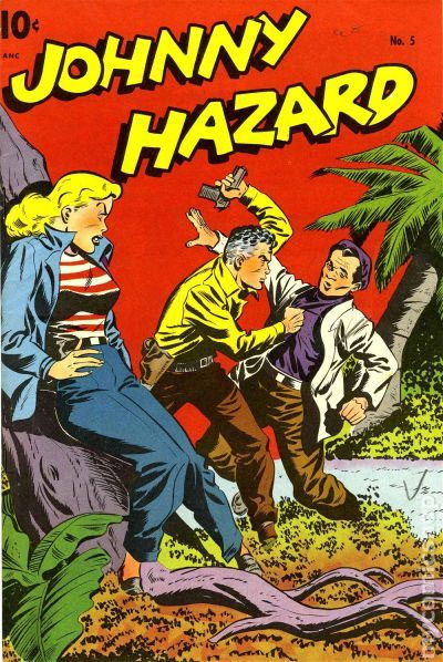 johnny hazard golden age