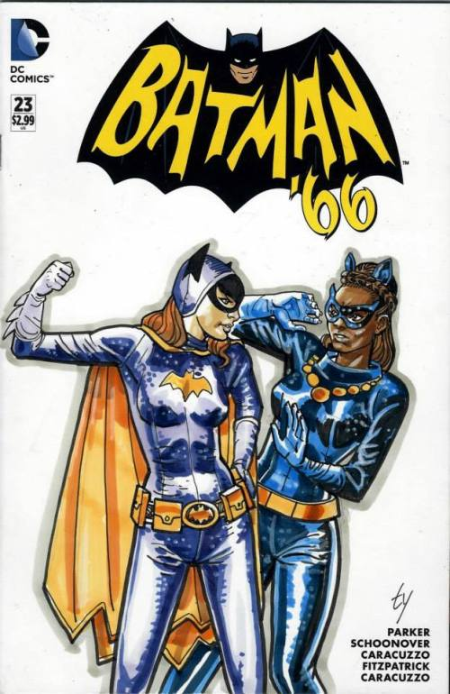 batgirl and catwoman kitt ty templeton