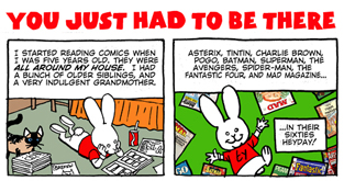For last week's ORIGINAL Bun Toon about Superman comics of the 1970s...click here.