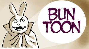 For last week's Halloween Bun Toon extravaganza, click here.