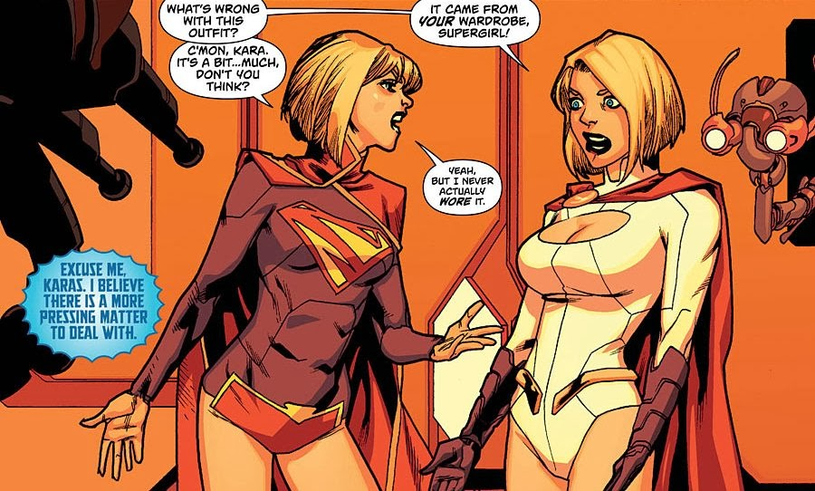 Comics rule 34 Power girl