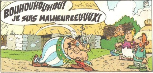 Obelix Malheureux