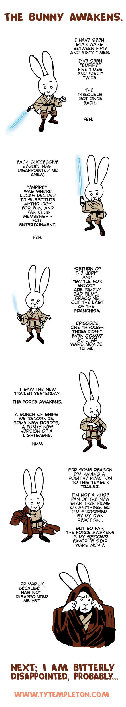 bunny force awakens