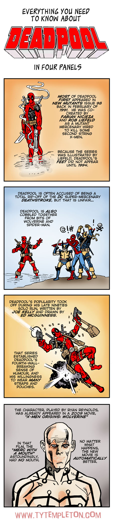 deadpool four panels websize