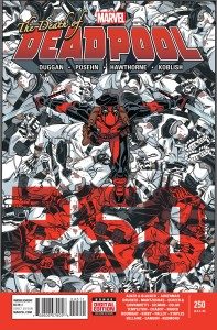 death of deadpool cover