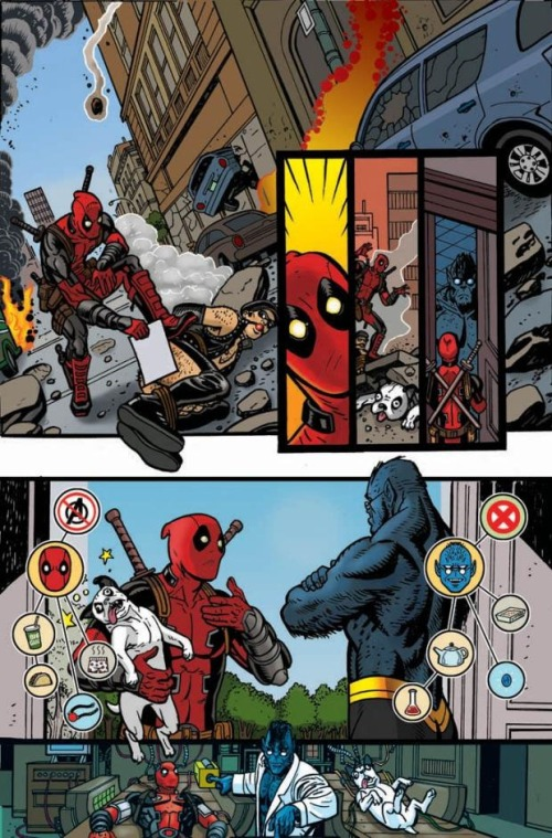 death of deadpool page 1