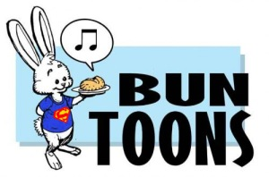 superman bun toon logo