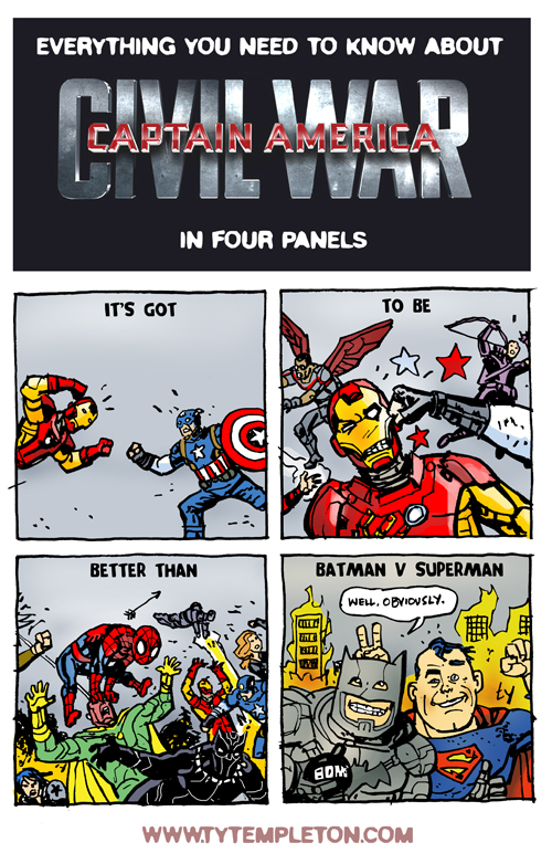 civil war four panels
