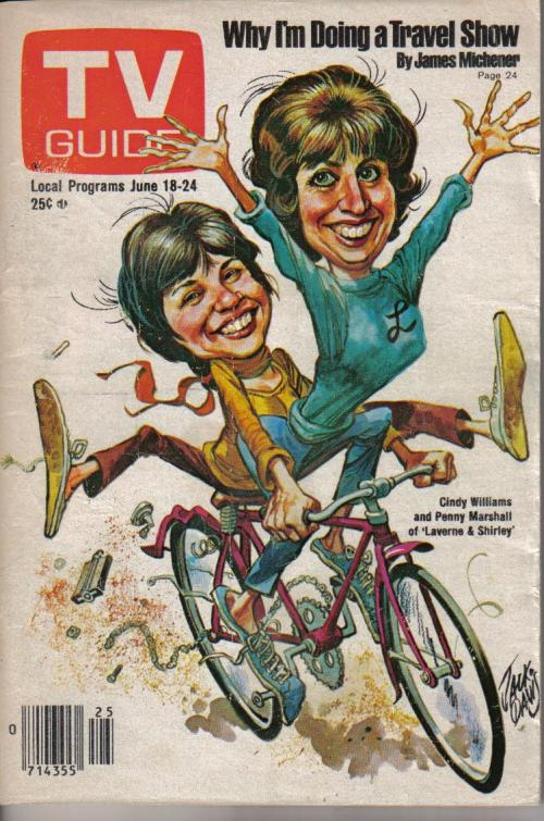 laverne and shirley jack davis