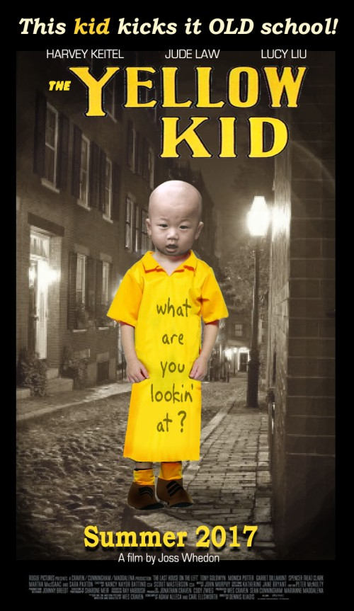 yellow kid poster