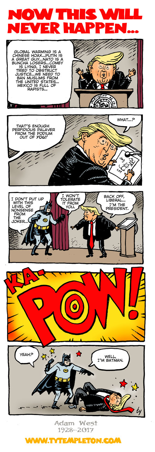 adam west vs trump