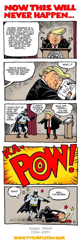 adam west vs trump