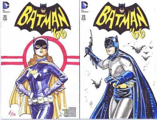 more batman 66 portraits