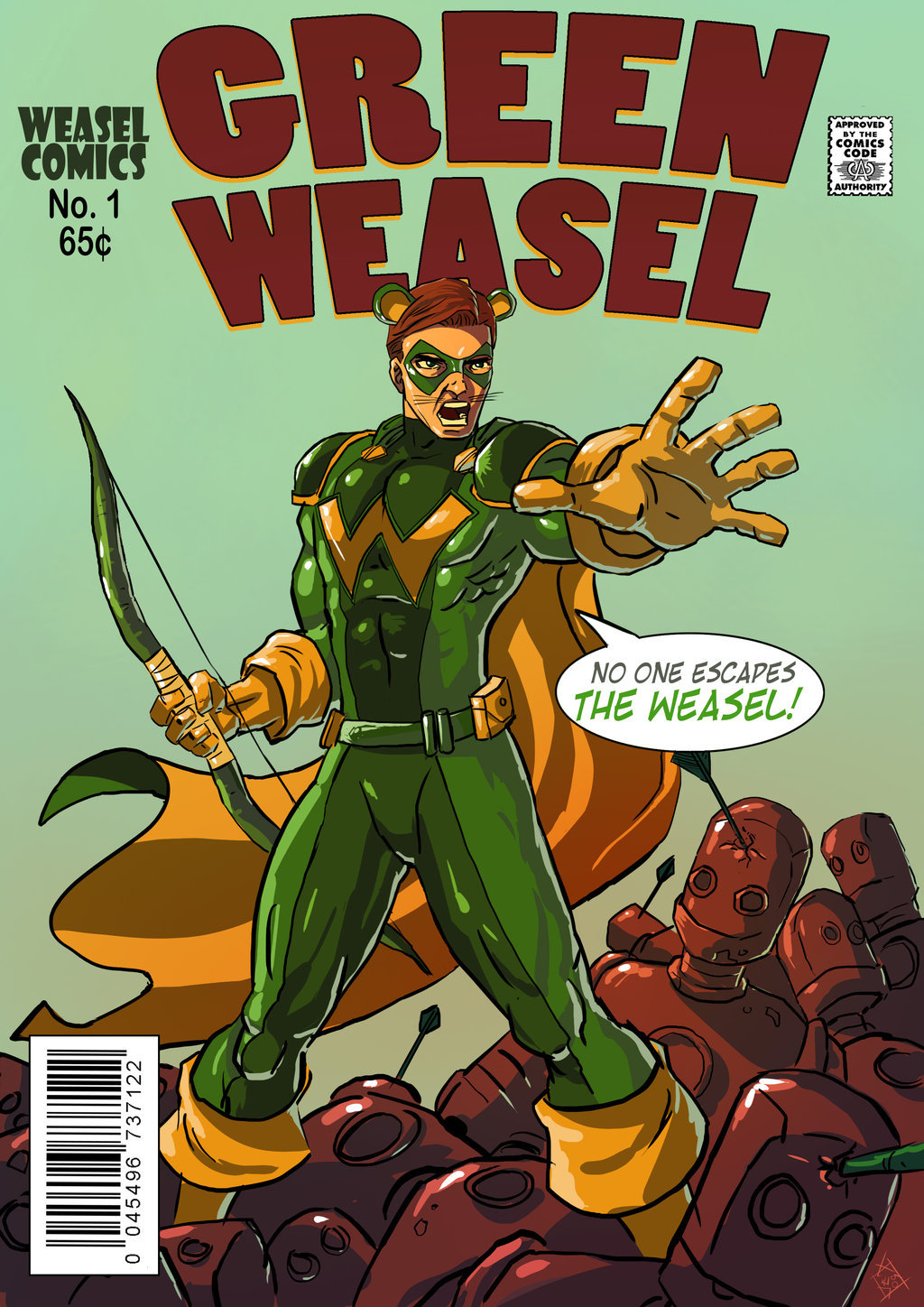 green_weasel_by_taclobanon_by_electagonist