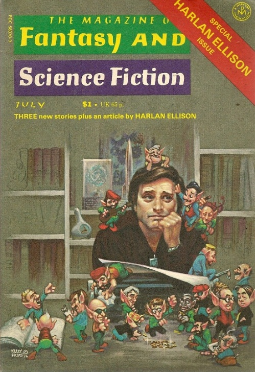 The Magazine of Fantasy and Science Fiction - Special Harlan Ellison Issue